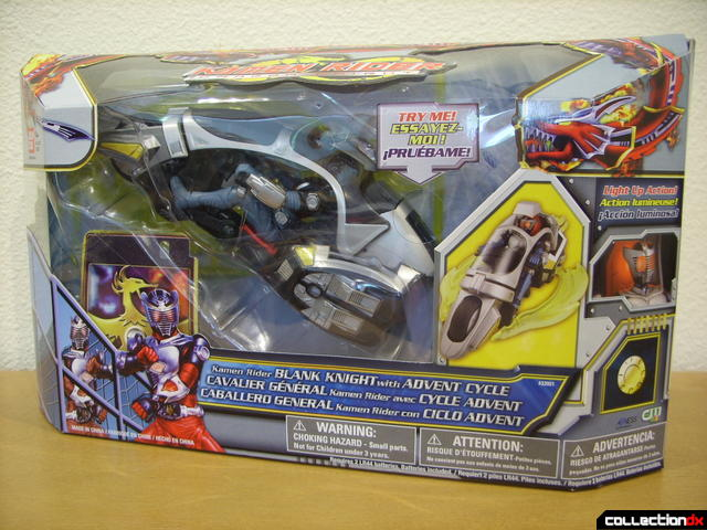 Kamen Rider Blank Knight with Advent Cycle (box front)