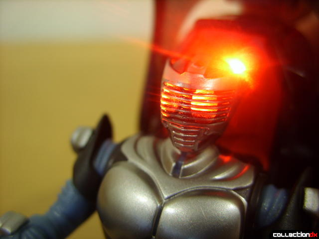 Kamen Rider Blank Knight with Advent Cycle (figure lit by LED)
