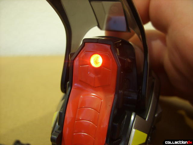 Kamen Rider Blank Knight with Advent Cycle (LED on)