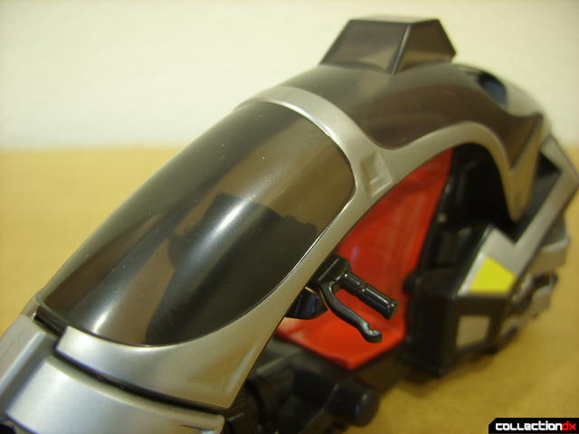 Kamen Rider Blank Knight with Advent Cycle (windscreen detail)