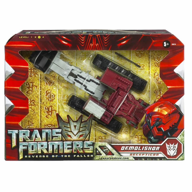 Voyager-class Decepticon Demolisher (box front)