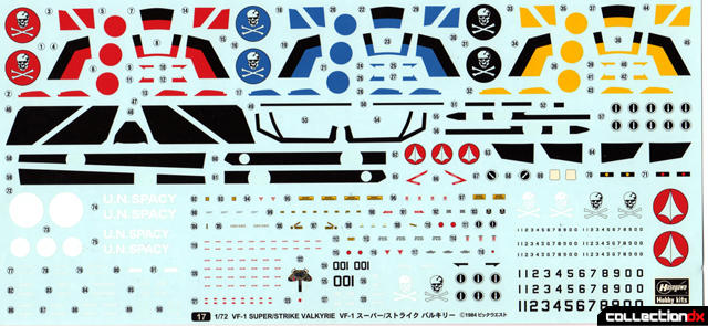 DX VF1 Super decal