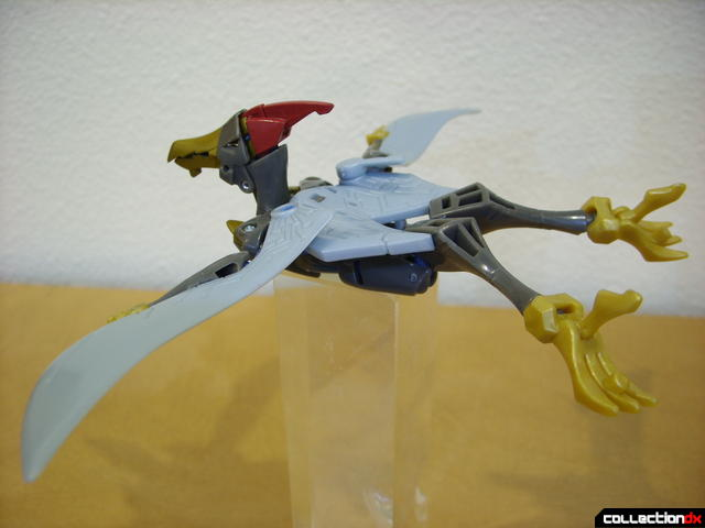 Animated Deluxe-class Autobot Swoop- beast mode posed (4)