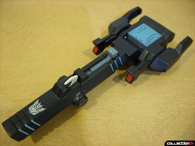 Animated Voyager-class Decepticon Shockwave- Shockwave form (cannon)