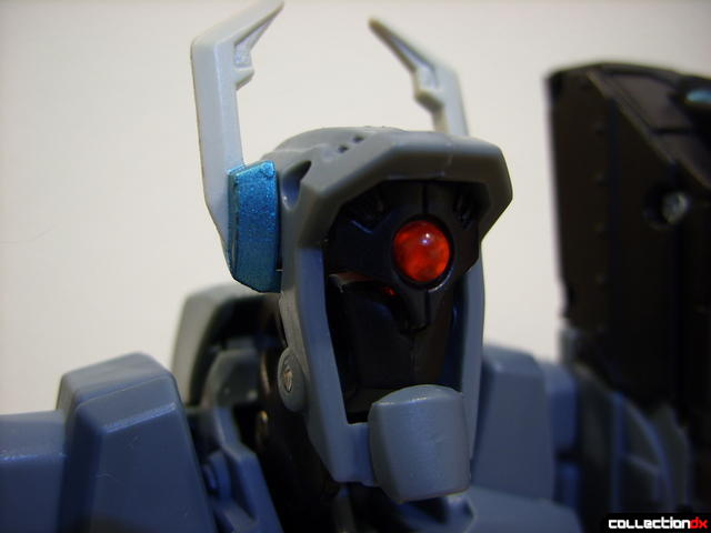 Animated Voyager-class Decepticon Shockwave- Shockwave form (head detail)