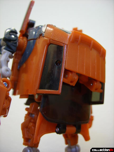 RotF Deluxe-class Autobot Mudflap- robot mode (back kibble)