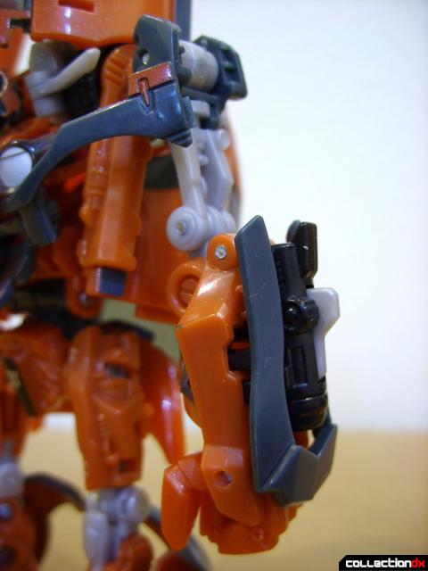 RotF Deluxe-class Autobot Mudflap- robot mode (left arm)