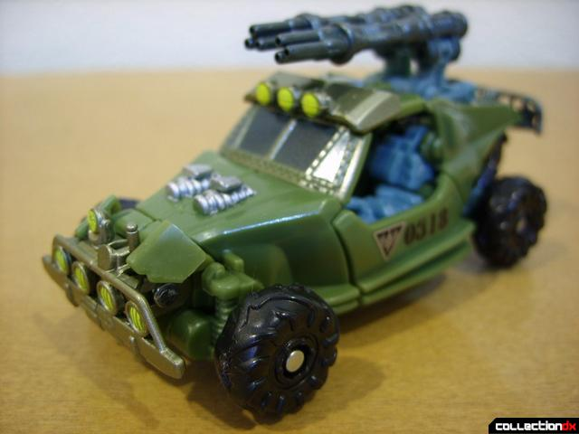 RotF Scout-class Autobot Dune Runner- vehicle mode (front)