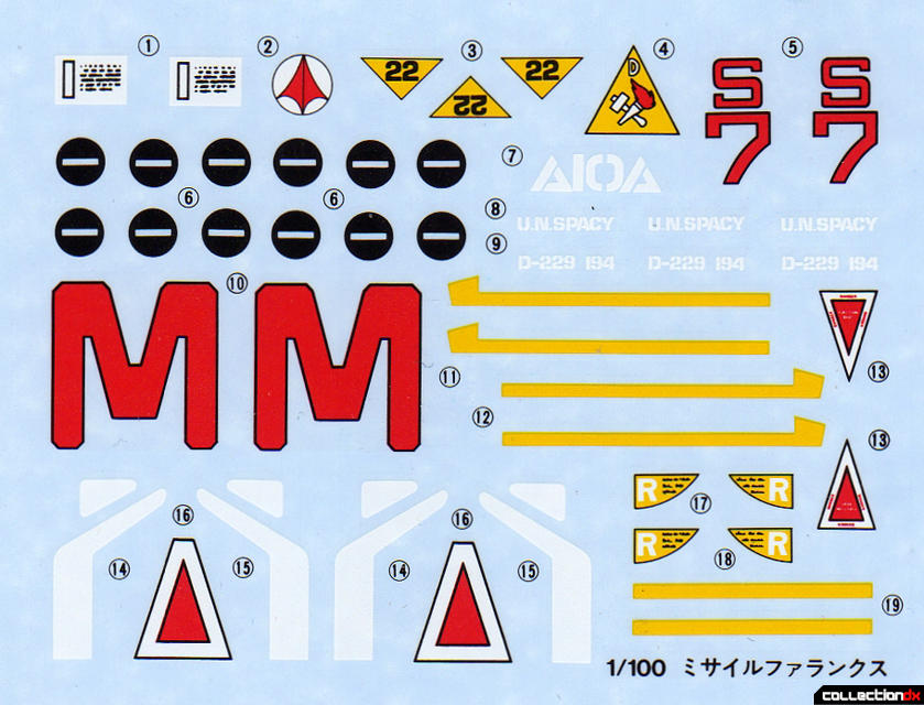 Missile Phalanx decals
