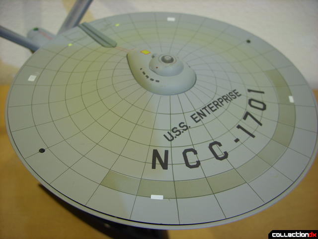 Starship Legends U.S.S. Enterprise HD ver. (saucer dorsal view, lights off)