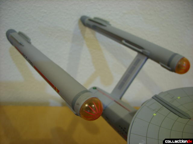 Starship Legends U.S.S. Enterprise HD ver. (warp engine nacelles, lights off)