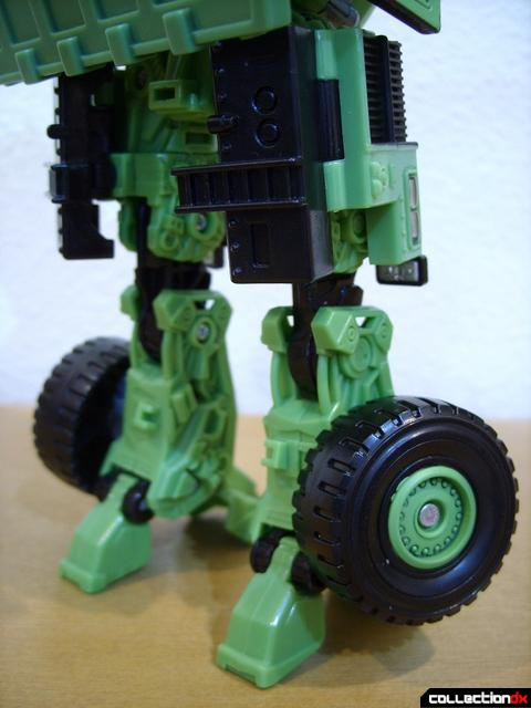 RotF Voyager-class Decepticon Long Haul- robot mode (legs, back)