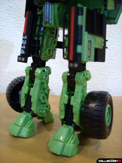 RotF Voyager-class Decepticon Long Haul- robot mode (legs, front)
