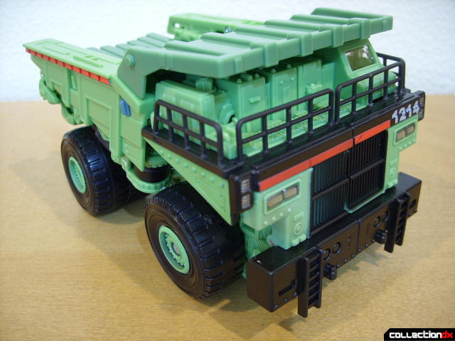 RotF Voyager-class Decepticon Long Haul- vehicle mode (front)