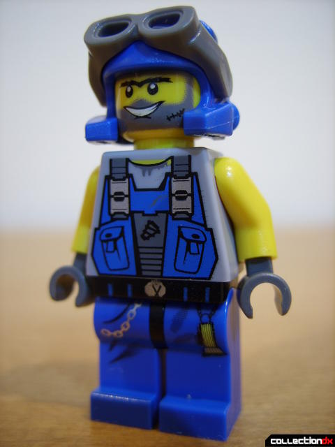 Thunder Driller (Duke minifig)