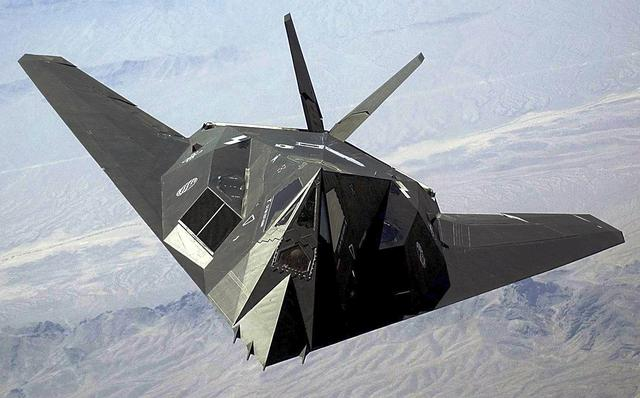 F-117A Nighthawk stealth fighter-bomber
