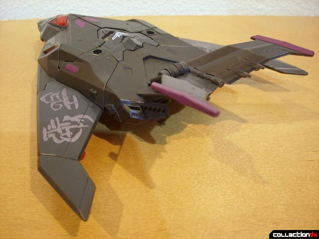 RotF Voyager-class Mindwipe- vehicle mode (back)