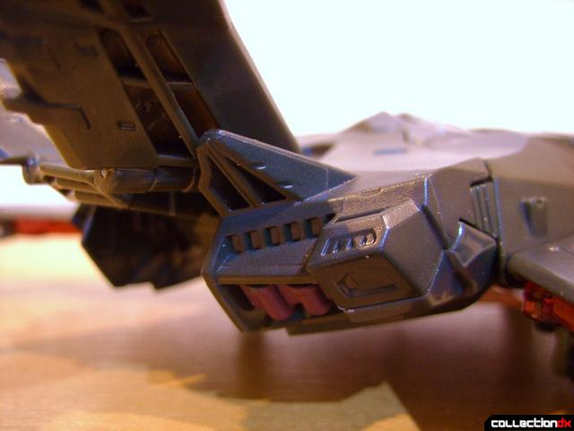 RotF Voyager-class Mindwipe- vehicle mode (engine exhaust detail)