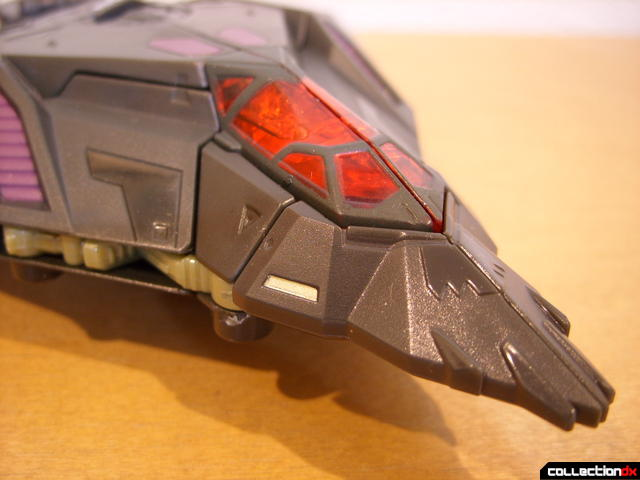 RotF Voyager-class Mindwipe- vehicle mode (front detail)