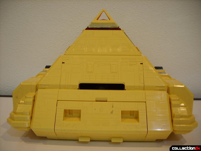 Deluxe Pyramidas The Carrier Zord- Pyramid Mode (back profile)