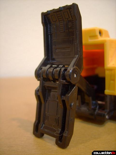 Deluxe Lightspeed Megazord- Haz Rescue-4 (utility arm claw open)