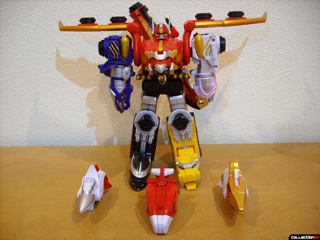 Skick Brothers Set (front) and DX Gosei Great
