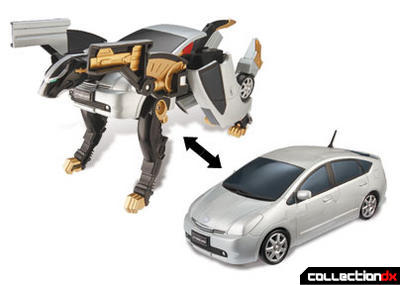 Chrone Prowler Tiger Zord (vehicle and zord modes)