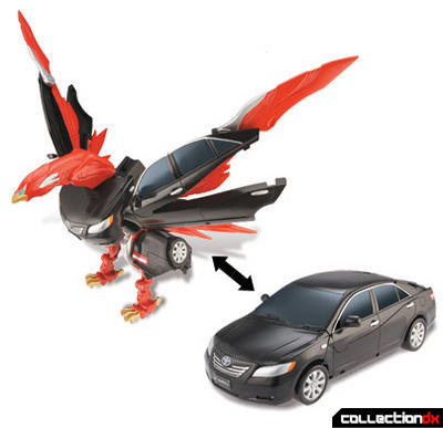 Engine King Eagle Zord (vehicle and zord modes)