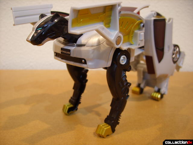Chrome Prowler Tiger Zord- Zord Mode (front)