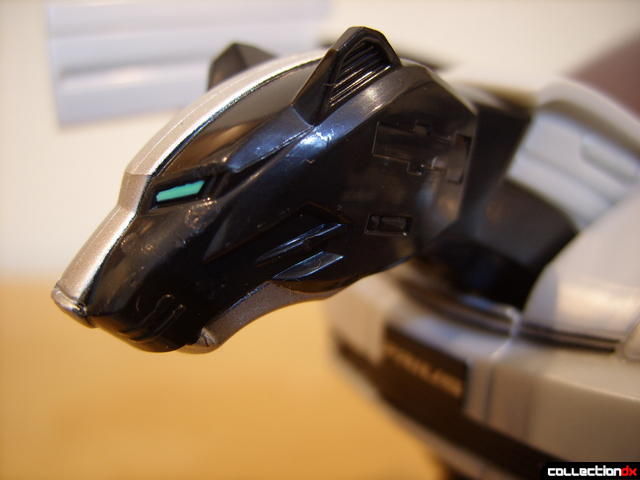 Chrome Prowler Tiger Zord- Zord Mode (head)