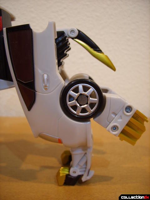 Chrome Prowler Tiger Zord- Zord Mode (left back leg)
