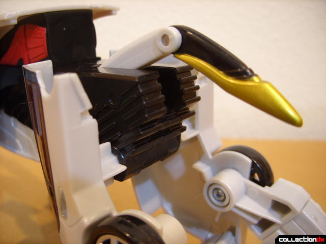 Chrome Prowler Tiger Zord- Zord Mode (tail)