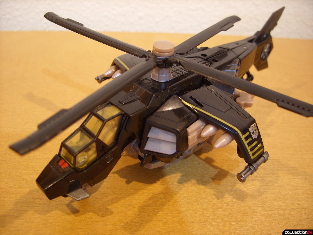 Deluxe-class Autobot Tomahawk- vehicle mode (front)