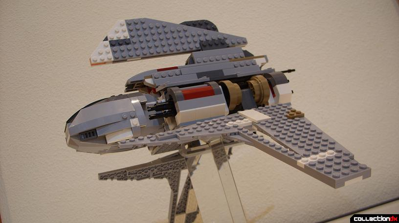 Emperor Palpatine's Shuttle (dramatic angle)