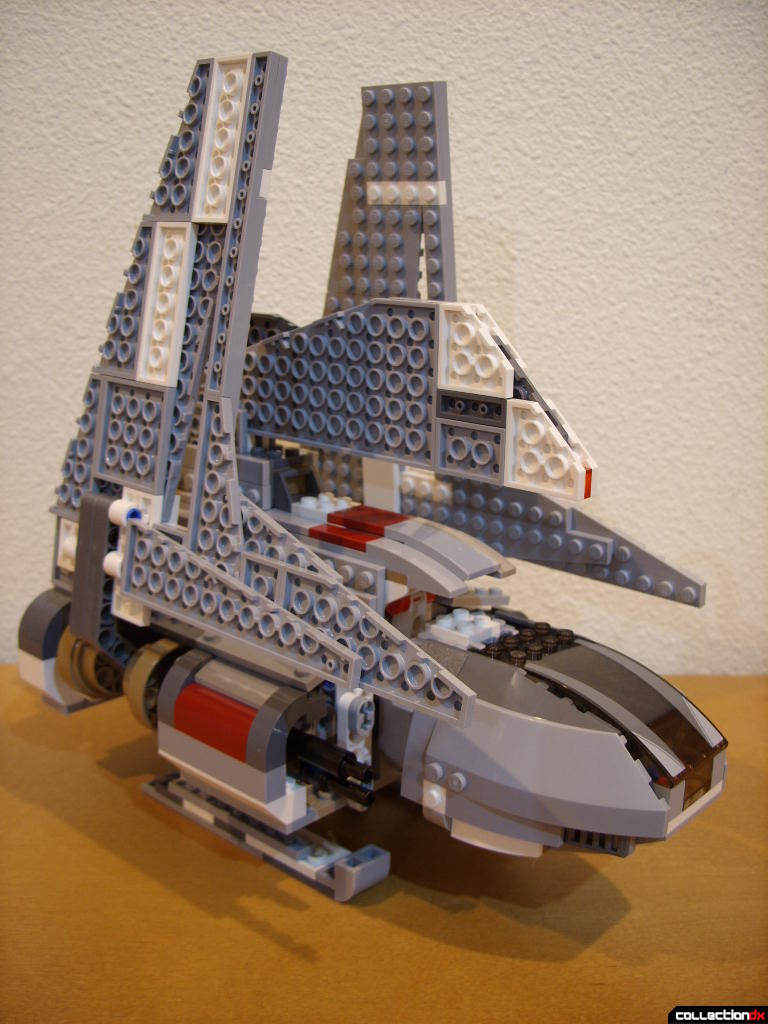 Emperor Palpatine's Shuttle (wings raised, front)