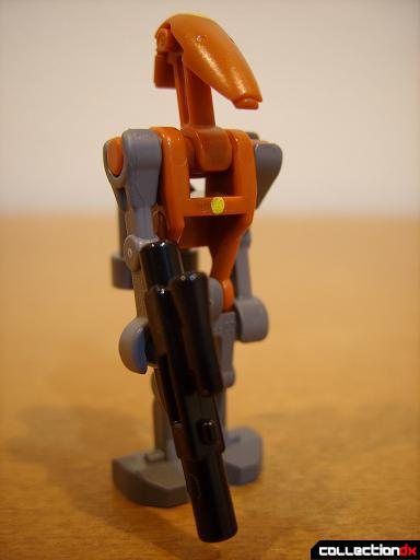 Droid Tri-Fighter (Rocket Battle Droid Commander minifig)