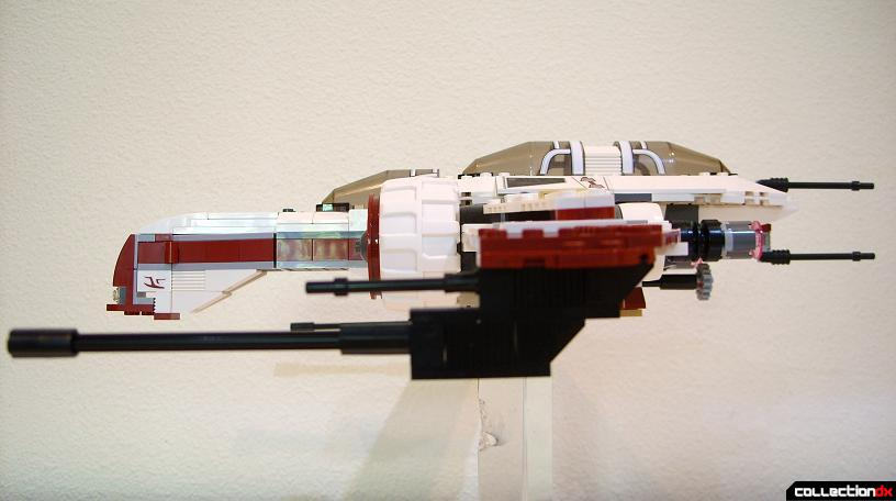 ARC-170 Starfighter (port profile, S-foils closed)