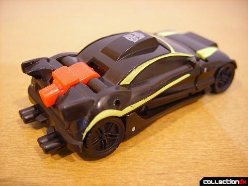 Autobot Double Clutch with Rallybots- Street Racer Drone (back)