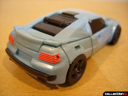 Autobot Double Clutch with Rallybots- vehicle mode (back)