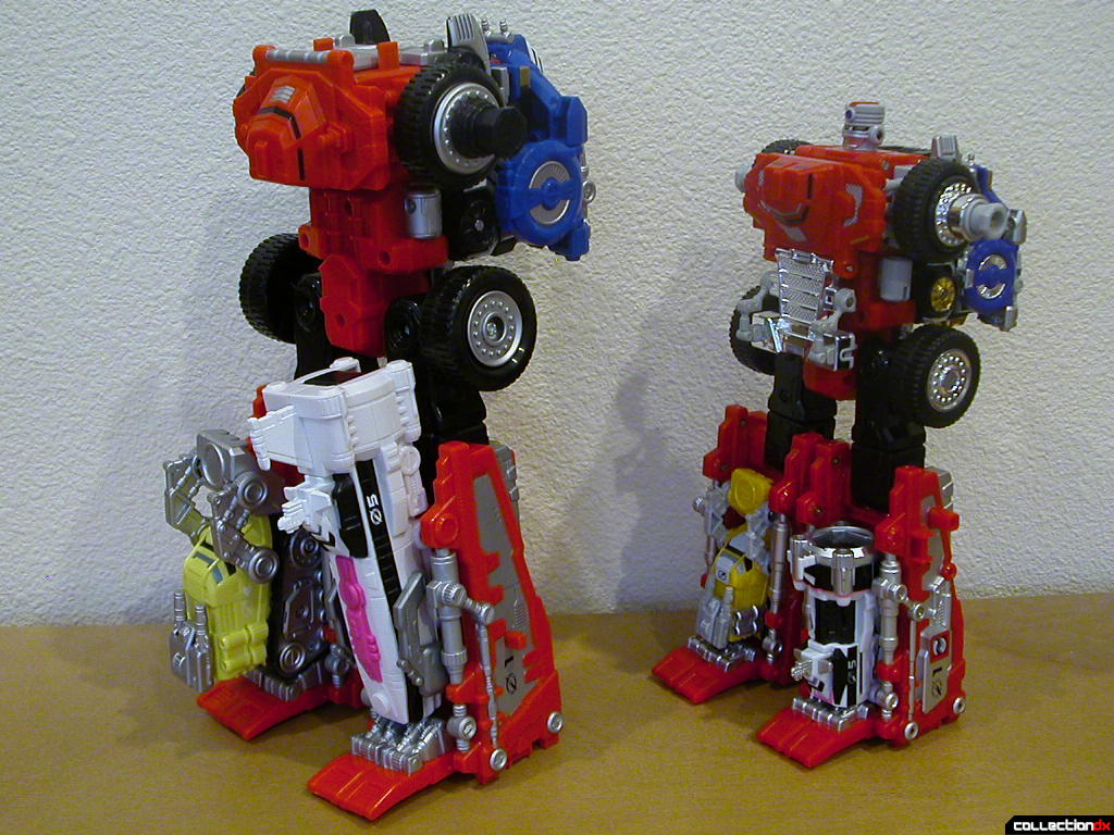 Deluxe DriveMax Megazord and DX DaiBouken (required change for combos)