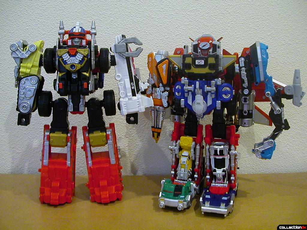 Deluxe DriveMax Megazord and Ultimate DaiBouken