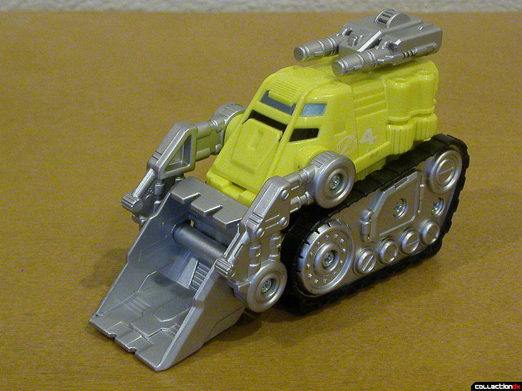 Dozer Driver Zord (front)