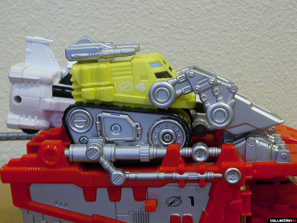 Mega Truck- Dozer Driver forwards (per instructions)