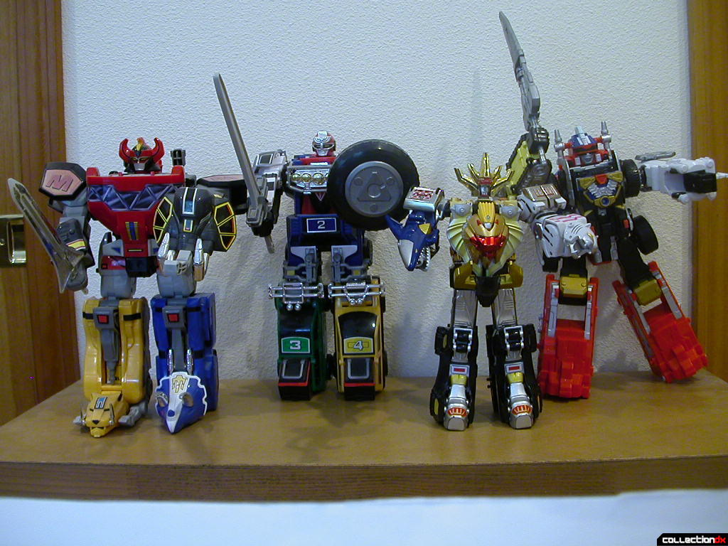 5-year anniversary Megazords