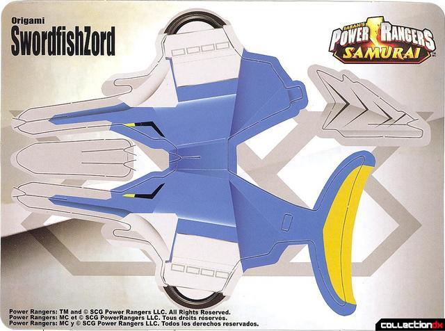 Power Rangers Samurai Sentai Shinkenger DX Kyoryu Origami Shark Zord japan  Sword | #1728459471 | 476x640