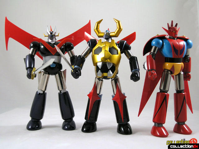 Great Mazinger, Gaiking and Getter Dragon
