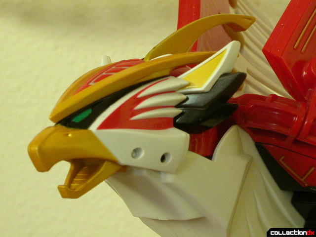 Power Animal Gao Falcon- head detail