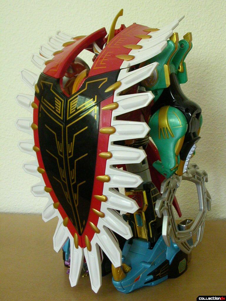 Gaoranger Combination Hyakujuu Gattai Gao Icarus Collectiondx
