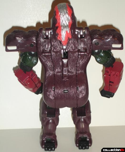 Optimus Primal Robot_Rear