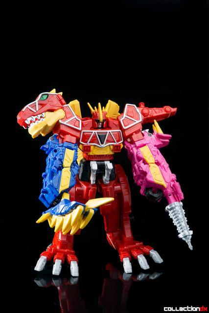 Dino Charge Megazord-37